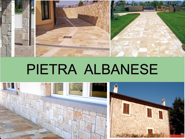 Pietra albanese disign esterni pavimenti rivestimenti muri